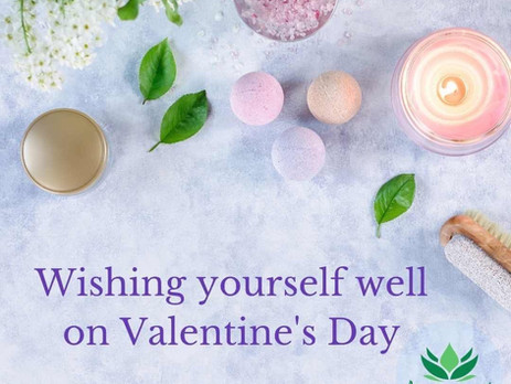 Wishing yourself a Happy Valentine's Day