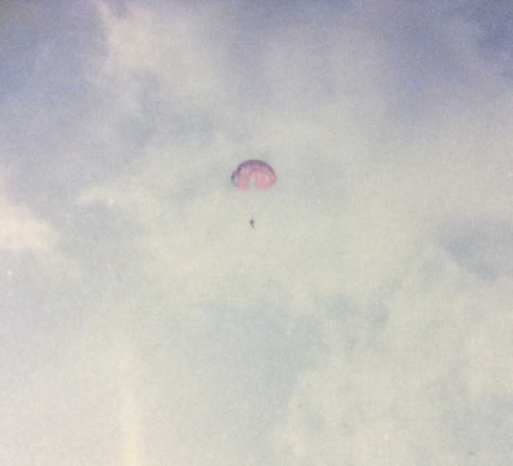 Parachuting, dealing with fear, embracing fear