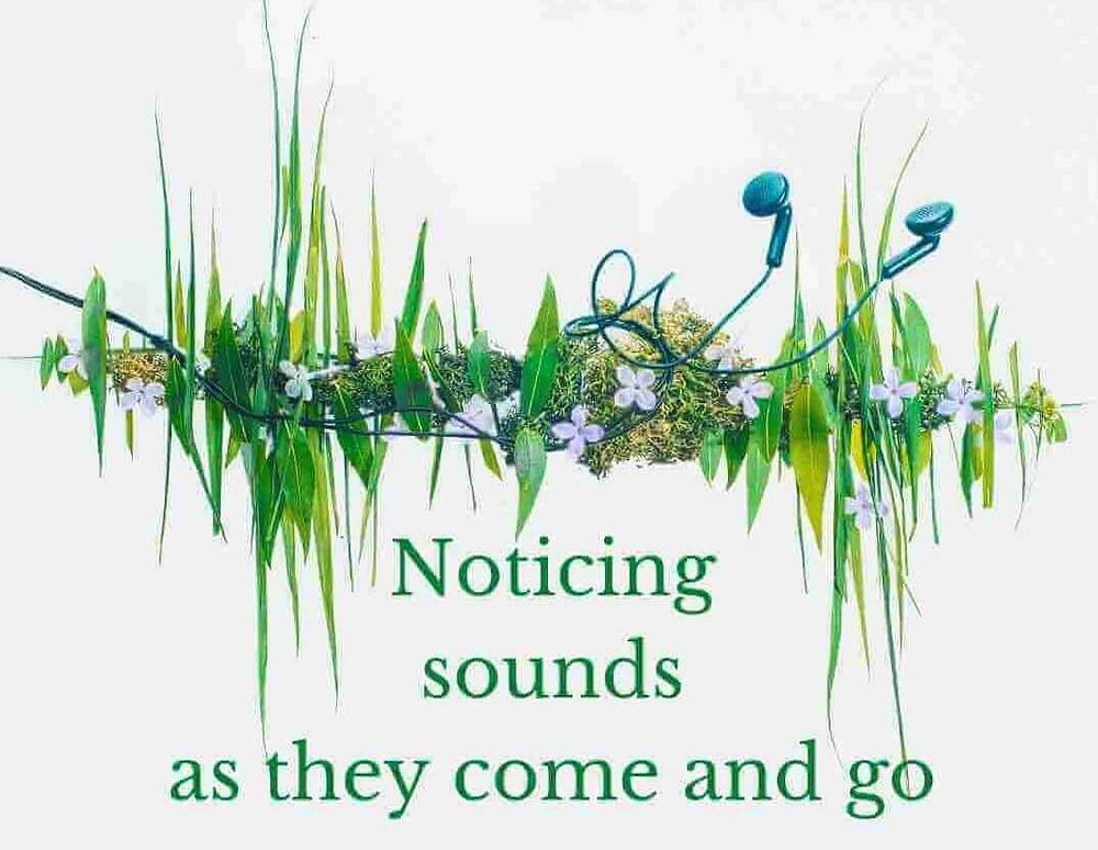 Sound wave mindful listening, This is it