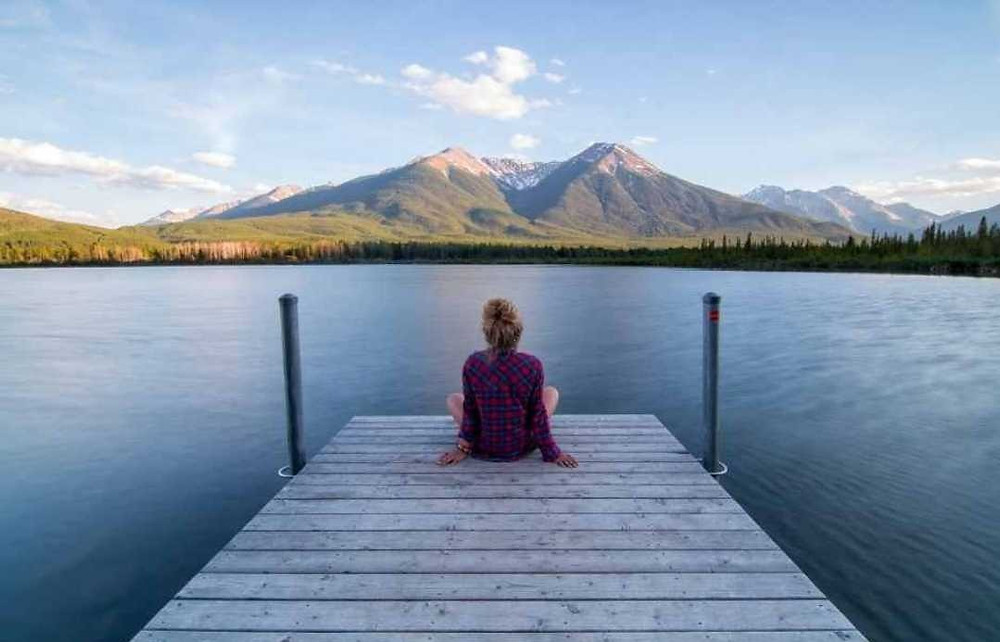 Mountain mindfulness meditation, This is it