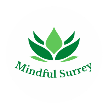 Lotus flower Mindful Surrey logo
