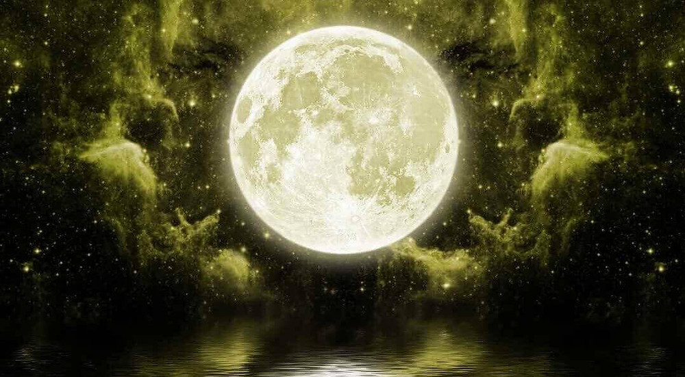 Moon, sleep meditation
