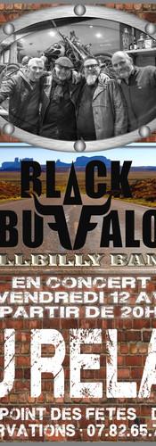 BLACK BUFFALO au RELAX 12/04/2019