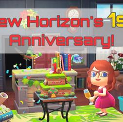 New Horizon's 1st Anniversary!