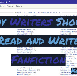 Why Writers Should Read and Write Fanfiction