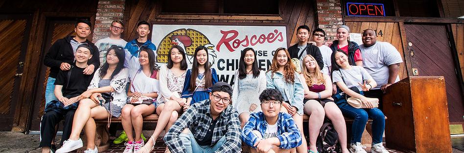 High School Group Los Angeles Trip