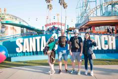 Sun and Fun on Santa Cruz Beach Boardwalk