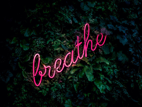 The benefits of breathing effectively