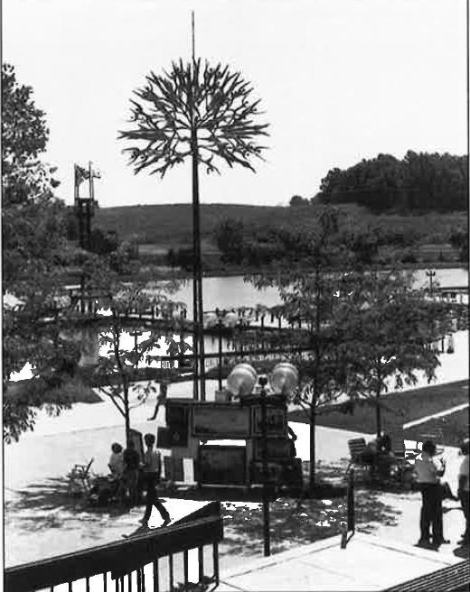 Lake Kittamaqundi and Lakefront 1967 w-o caption