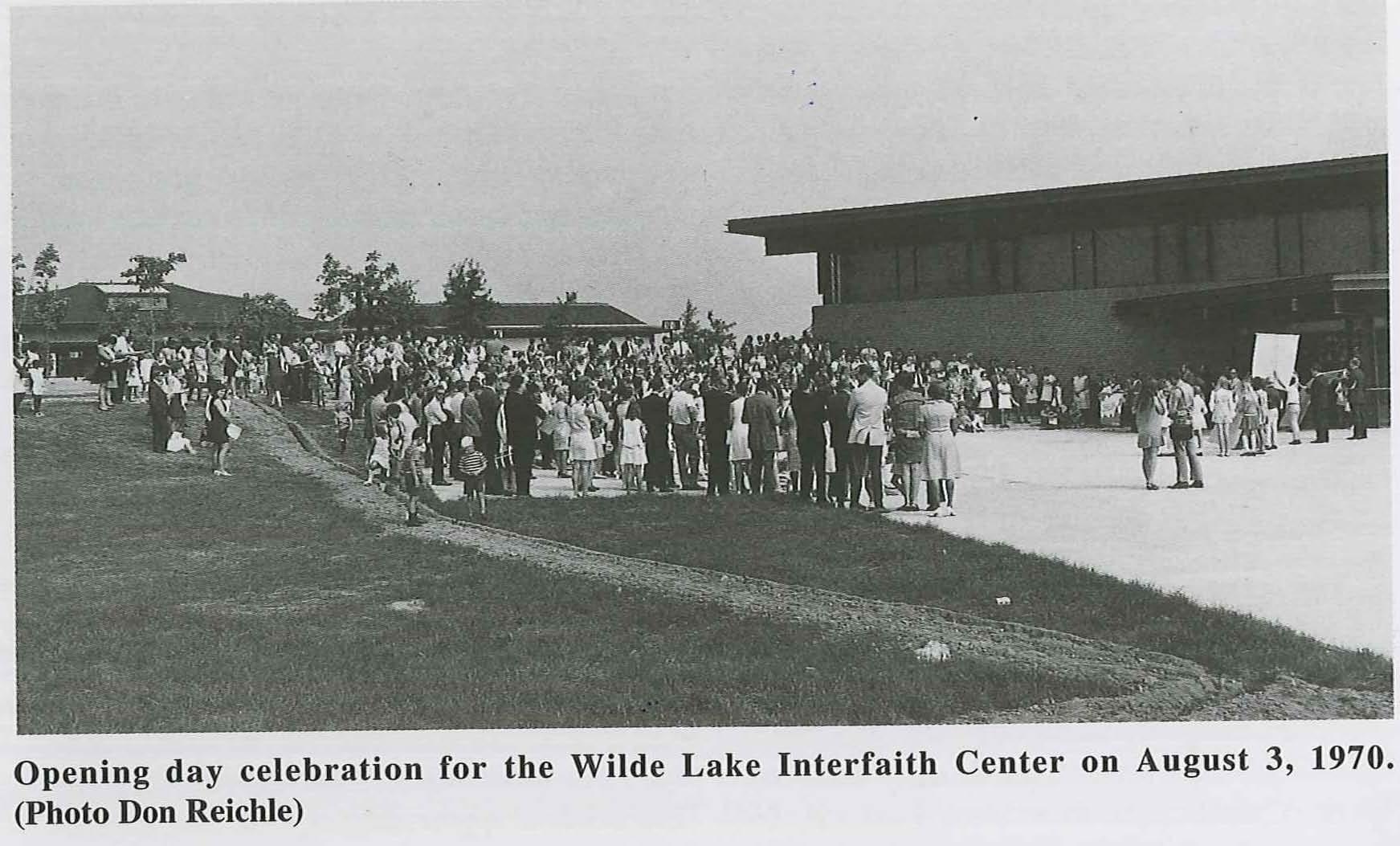Wilde Lake Interfaith Center  Opening Day Celebration 08-03-1970 at Wilde Lake Village Center