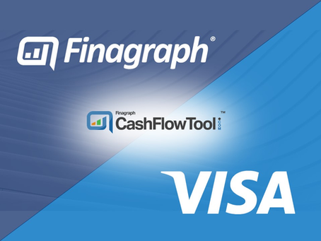 Managing Your Cash Flow Has Never Been Easier with Finagraph CashFlowTool™ & Your Visa Business Card