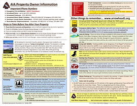 AIA OWNER INFORMATION Handout FRONT PAGE