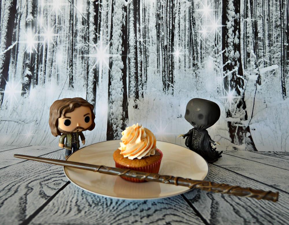 Even the dementor wants a butterbeer cupcake