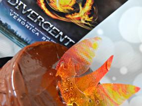 TBT: Divergent + Dauntless Chocolate Cake
