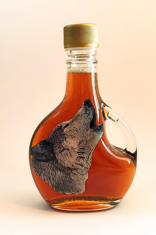 100% Pure Wisconsin Maple Syrup 12 oz Wolf