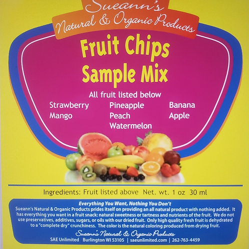 Fruit Chip Sample Mix