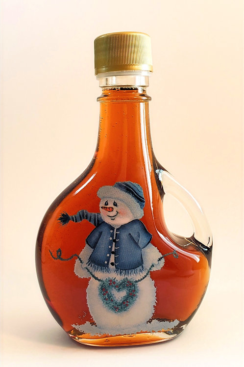 100% Pure Wisconsin Maple Syrup 12 oz Snowman