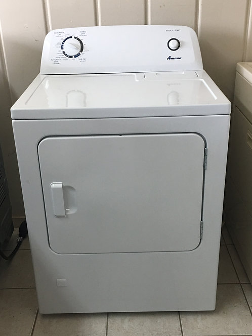 Amana 6.5 cu. ft. 120 Volt White Gas Vented Dryer