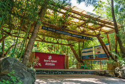 Entrance to the Atitlan Nature Reser