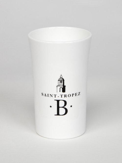 Verre à shot blanc | Blonde of Saint-Tropez