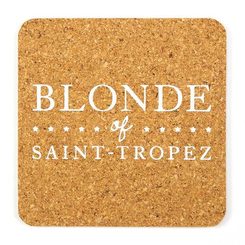 Sous boc carré | Blonde of Saint-Tropez