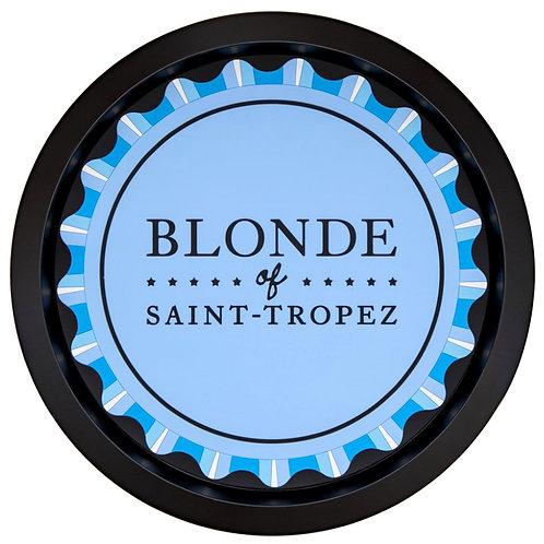 Plateau de service en métal | Blonde of Saint-Tropez