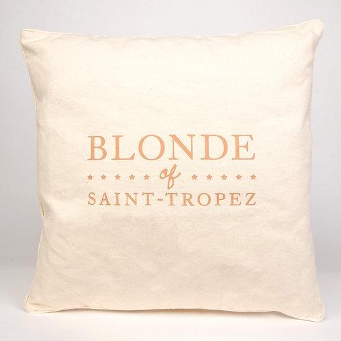 Coussin | Blonde of Saint-Tropez