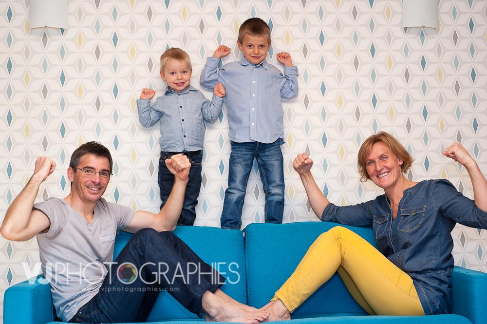 portrait famille parents enfants fra