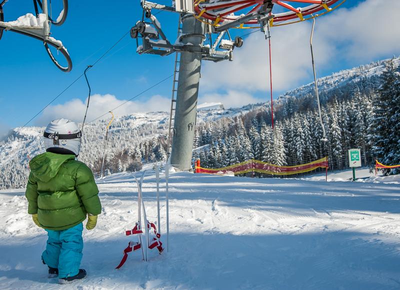 enfant skieur