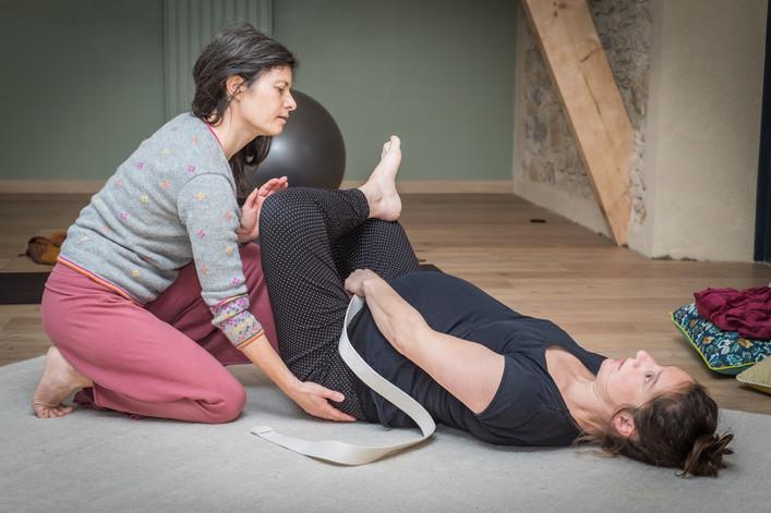professeur de yoga et sophrologue