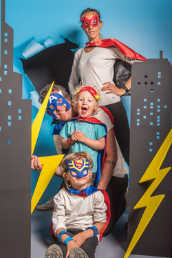 portrait famille super heros-5