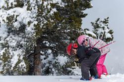 jeunes skieurs