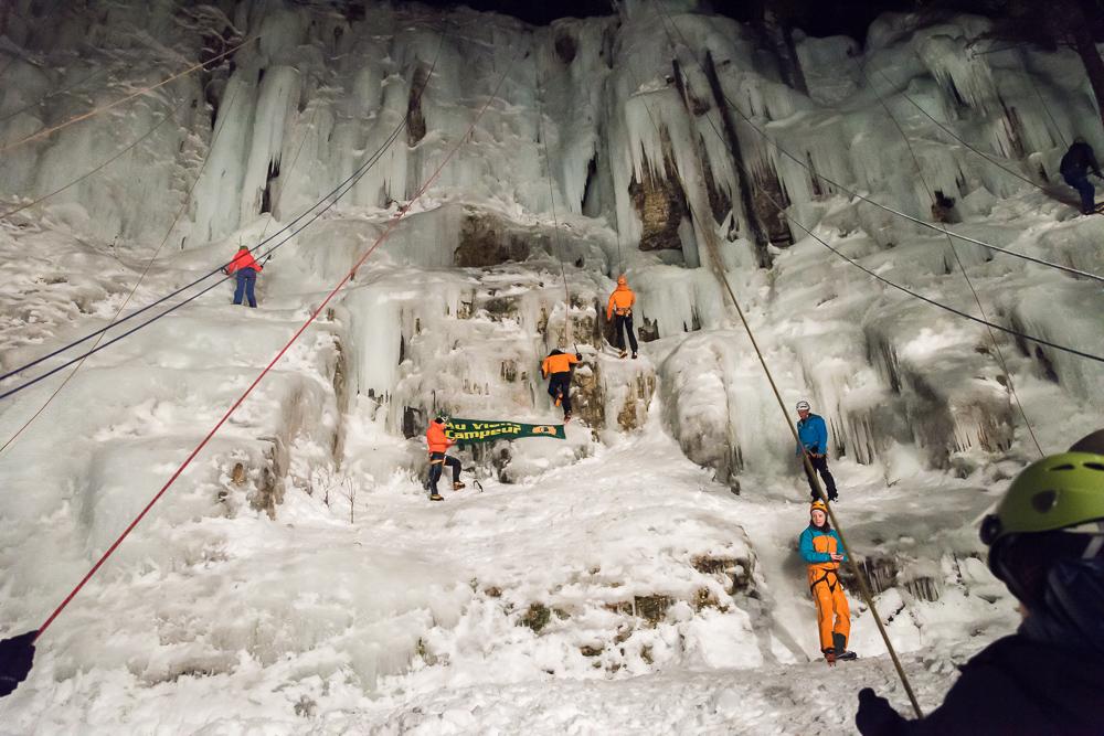 cascade de glace-l'aigle-Lans en Ver