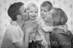 portrait famille parents enfants