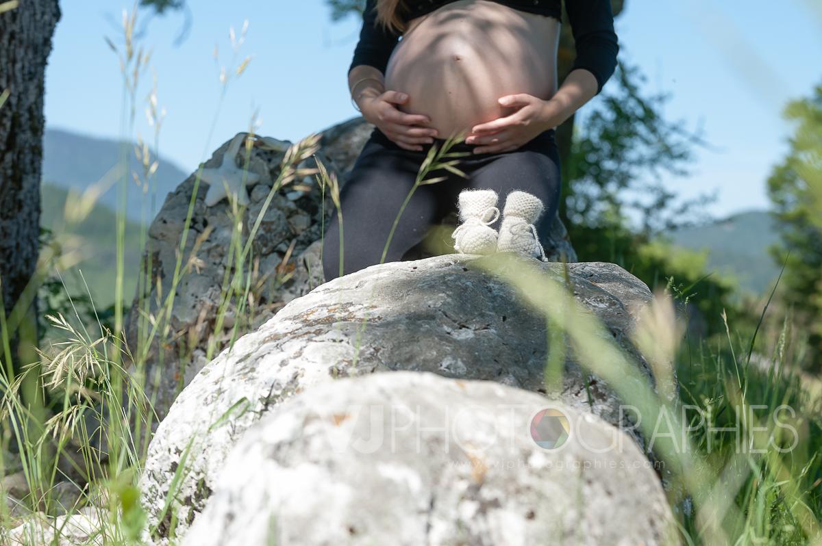 portrait grossesse