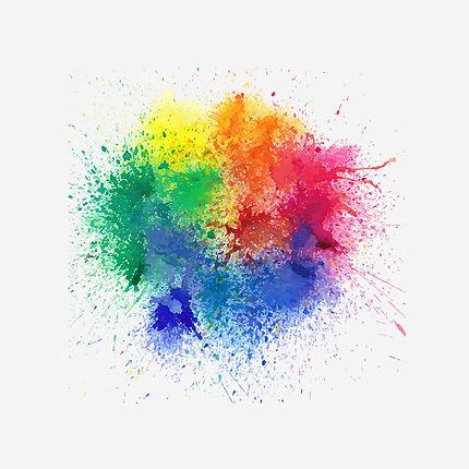 Цветные брызги