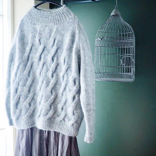amuhibiknitオリジナルite sweater編み図