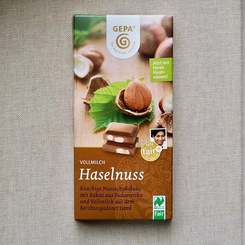 ビオ ヘーゼルナッツミルクチョコレート