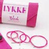 予約 LYKKE   付け替え輪針用コード Pink Swivel Cords [5インチ用]