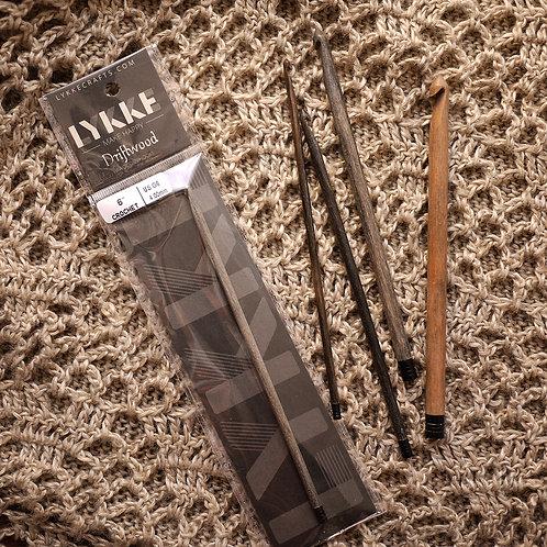 LYKKE | Driftwood Crochet Hook