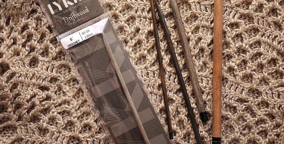 LYKKE Driftwood Crochet Hook