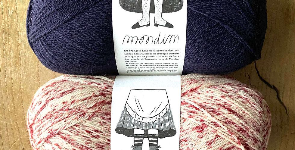 amuhibiオリジナルデザイン ショール&靴下用カラーセット