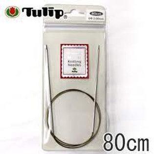 ニーナ メタル ニッティング ニードルズ 輪針 80cm | TULIP