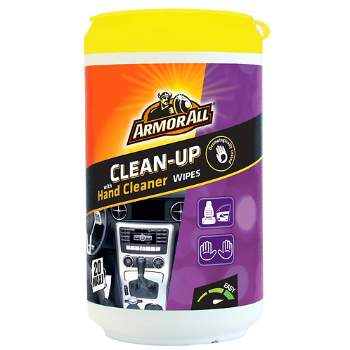 ArmorAll 20ct Clean Up Wipes x6
