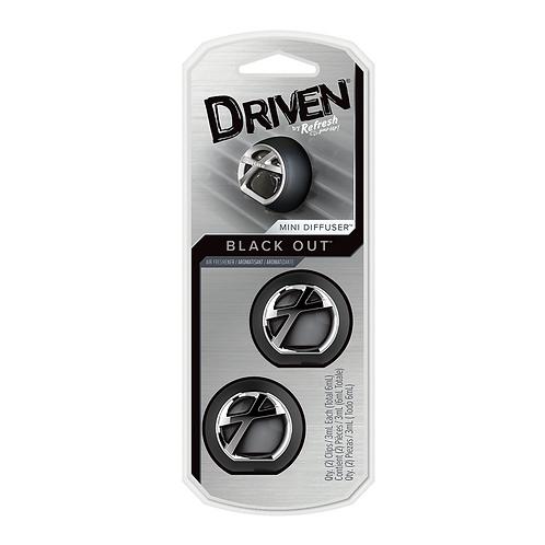 Driven Black Out 2PK Mini Diffuser x4