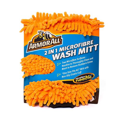 Armorall 2in1 Microfibre Noodle Wash Mitt x4