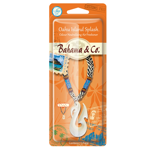 Bahama & Co Medallion Oahu Island Splash x4