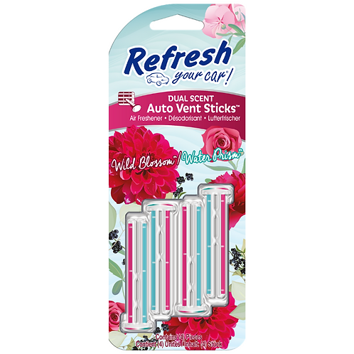 Refresh Your Car Vent Sticks x6