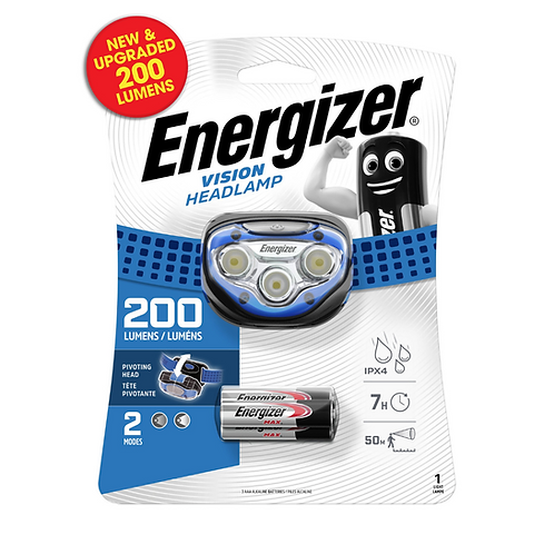 Energizer LED Vision Headlight x6