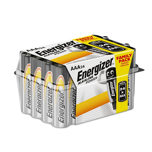 Energizer Alkaline Power AAA E92 Value Home Pack x24